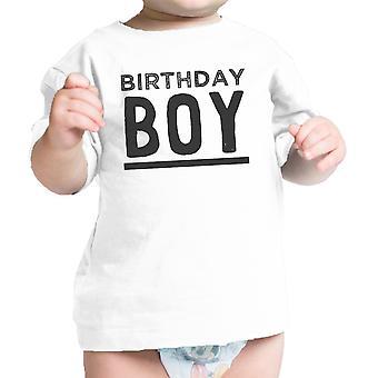 Geburtstag junge weiße Baby T-Shirt süß erster Geburtstag Geschenk für Baby Boy