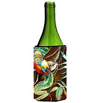 Mandarin Pheasant Wine Bottle Beverage Insulator Hugger