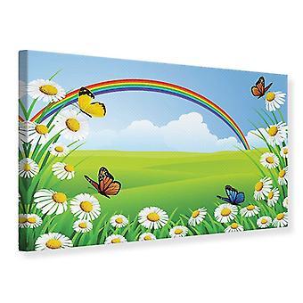 Canvas Print The Colorful Rainbow