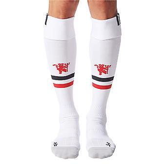 2017-2018-man Utd Adidas Kotisivu sukat (valkoinen)