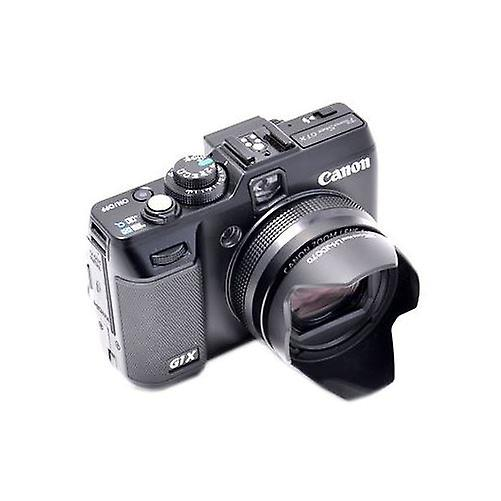 JJC compatible Canon LH-DC70 Lens Hood for Canon PowerShot G1 X