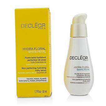 Decleor Hydra Floral pétalos blanco Roman Chamomile piel perfeccionando hidratante loción lechosa - 50ml/1.7 oz
