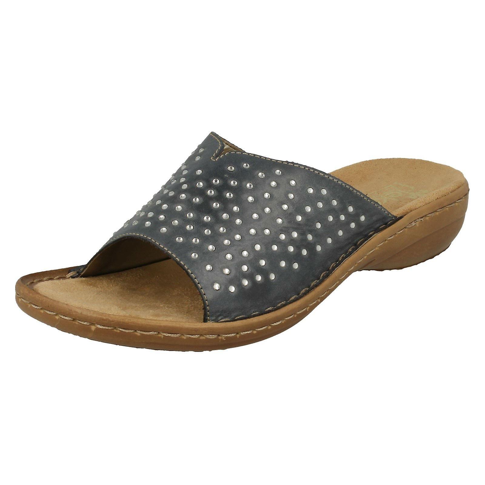 Ladies Rieker Mule Sandals 608P9 oOAgV