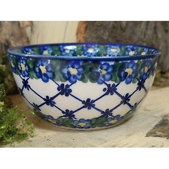 Salad Bowl ø 13 cm, height 6 cm, 53, Bunzlauer pottery - BSN 6744