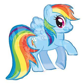 Il mio piccolo Pony Supershape arcobaleno palloncino