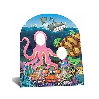Under The Sea Stand-In Cutout