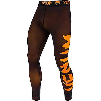 Venum Giant trocken Tech Fit geschnitten Kompression Gamaschen - schwarz/Neo Orange