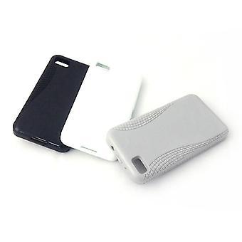 Konkis 3 x TPU Cases Cover for BlackBerry Z10 black / white / gray