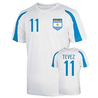 Argentina sport Training Jersey (tevez 11)