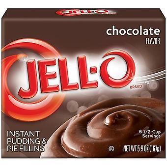 Jell-O chocolade Instant Pudding Dessert Mix 5.9 oz vak