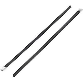 KSS 1091190 BSTC-127 Cable tie 127 mm 4.60 mm Black Coated 1 pc(s)
