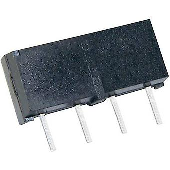 StandexMeder Electronics MS05-1A87-75LHR Reed relay 1 maker 5 V DC 0.5 A 10 W SIP 4
