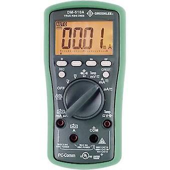 Greenlee DM-510A håndholdt multimeter Digital CAT II 1000 V, CAT III 600 V skjerm (teller): 6000