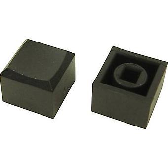 Cliff CP3433 skubbe knappen sort (L x b x H) 12.2 x 12.2 x 10 mm 1 computer(e)