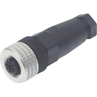 Hirschmann 933 169-100 ELKA 4012 PG9 Contact doos en Connector, voor M12 verbinding Black
