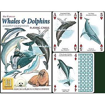 Valaiden ja delfiinien joukko 52 kortin pakalla (+ Jokerit)