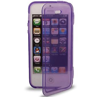 Horizontal Folding Case TPU Phone Case for iPhone 5 /5s