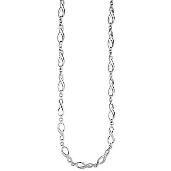 Necklace necklace infinite 925 Silver cubic zirconia necklace 48 cm silver chain