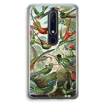 Nokia 6 (2018) gennemsigtig sag (Soft) - arvemassen Trochilidae