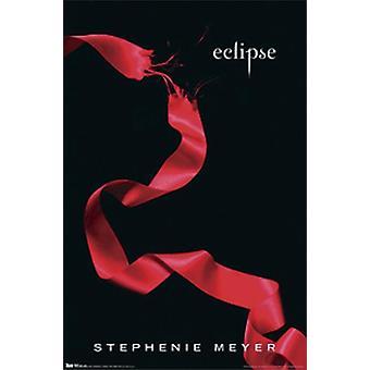 Twilight Eclipse poster Stephenie Meyer, Amerikaans boekomslag
