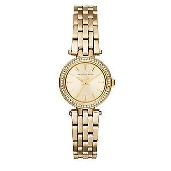 Michael Kors damernes Jesper Mini Watch - MK3295 - Champagne/guld