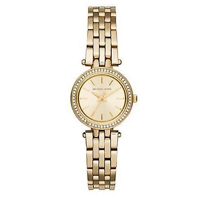 Michael Kors dames Darci Mini horloge - MK3295 - Champagne/goud