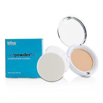 Bliss em ' pulbere ' me buildable pulbere Foundation-# nud-9G/0.31 Oz