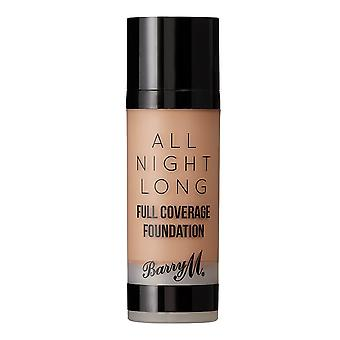 Barry M All Night Long Full Coverage Foundation-Almond
