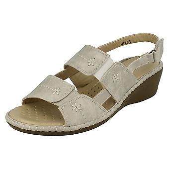 Ladies Eaze Casual Open Toe Sandals