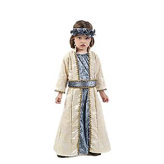 Queen Beatrix medieval Princess child costume