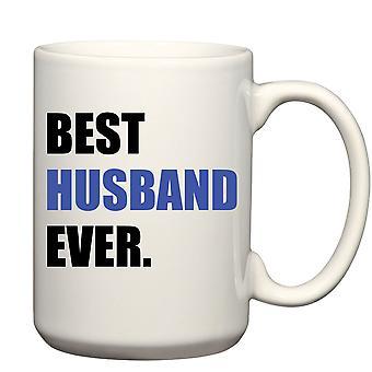Men's Best Husband Ever Blue Big Mug 15oz