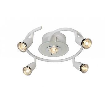 Lucide Bingo-LED Modern Round Metal White Ceiling Spot Light