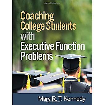 Studenti di College coaching con funzione esecutiva problemi