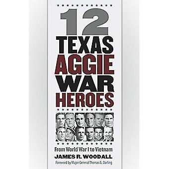 12 Texas Aggie krigshjältar: från första världskriget till Vietnam (Williams-Ford Texas A & M universitet militärhistoria-serien)