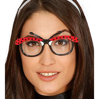 Womens Ladybird briller Fancy kjole tilbehør