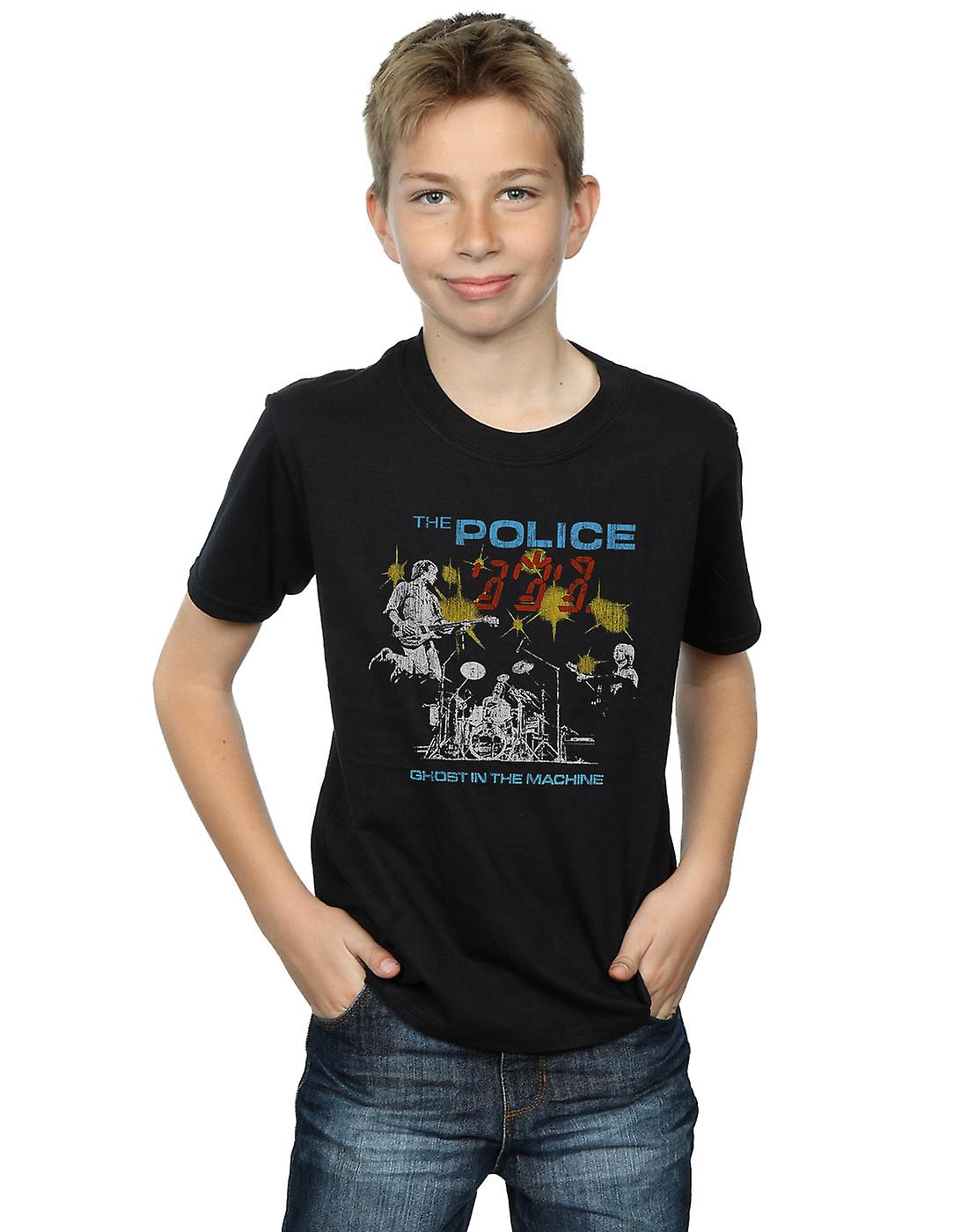 The Police Boys Ghost In The Machine T-Shirt