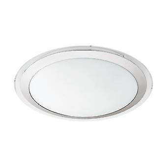 Eglo - Competa 1 LED branco redondo EG95678 luz de teto