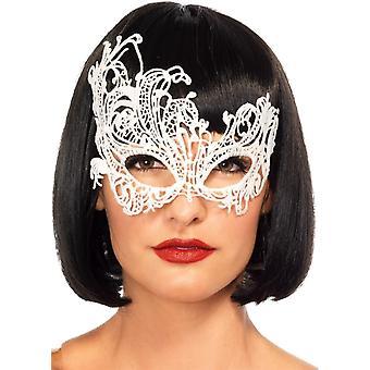Mask Fantasy Venetian Wht For Women