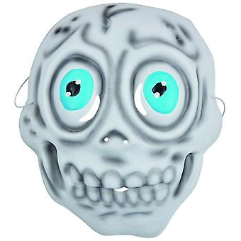 Child mask skeleton fun carnival Halloween