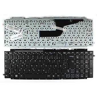 Samsung NP-RC710-S05DE Black German Layout Replacement Laptop Keyboard