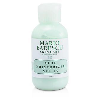 Mario Badescu Aloe Moisturizer Spf 15 - For Combination/ Oily/ Sensitive Skin Types - 59ml/2oz