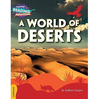 A World of Deserts Gold Band by Kathryn Harper - 9781108405850 Book