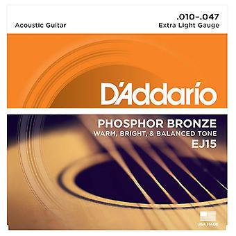 D'Addario Acoustic Extra Light 10-47