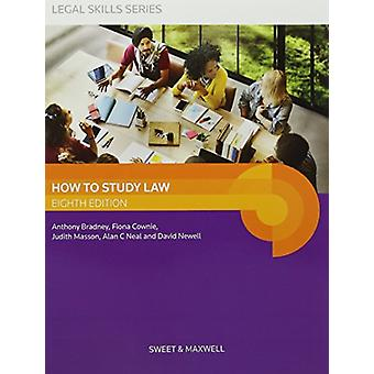 How to Study Law by Professor A. Bradney - 9780414061538 Book