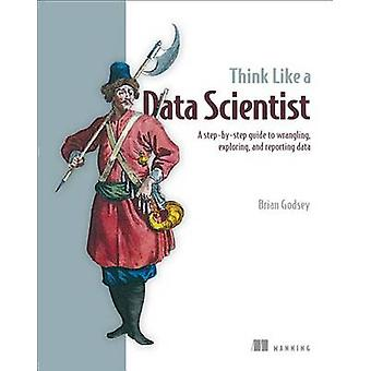 Think Like a Data Scientist by Brian Godsey - 9781633430273 Book