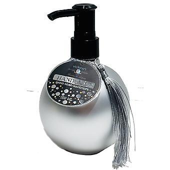 Tvål med pump Royal matt silver 350 ml
