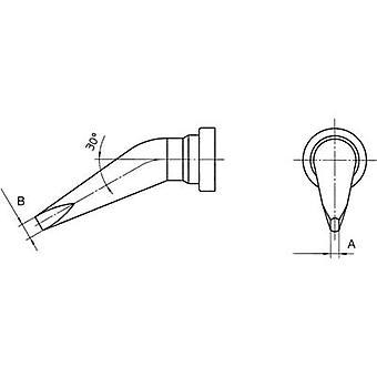 Weller LT-A LX soldeerpunt beitel vormig, gebogen uiteinde maat 1,6 mm inhoud 1 PC (s)