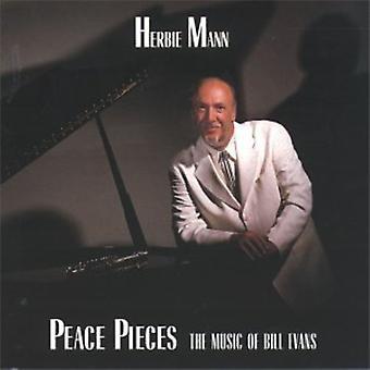 Herbie Mann - Peace Pieces [CD] USA import