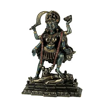 Kali Hindu Goddess Standing On Lord Shiva Statue