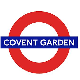 Tfl™5107 licensed famous covent garden roundel™ vinyl sticker